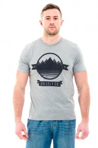 Grey Lake T-Shirt Front